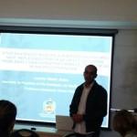 """Também no GT Bioética, Leandro Molina falando sobre """"Ética na atenção básica e a inserção das equipes NASF: reflexões a partir de um estudo sobre problemas vivenciados por farmacêuticos em um município catarinense"""""""