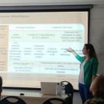 """Juliara Hoffman apresentando """"A ética da política: entre a teoria do ser cidadão e a prática do controle social"""" no GT Bioética"""