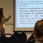 """No GT Políticas Públicas, Gestão e Avaliação em Saúde, Francielli Maciel apresenta """"Uso do Termalismo integrado a prática de uma ESF da Grande Florianópolis"""""""