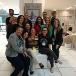 Atuais membros do nupebisc junto do professor Volnei Garrafa.